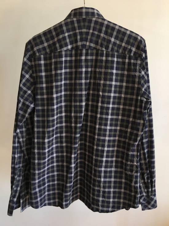 Givenchy Checked Cotton Shirt Size US M / EU 48-50 / 2 - 3