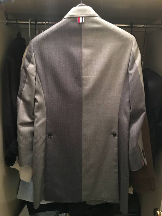 Thom Browne High Arm Chesterfield - size 2 Size 38S - 2