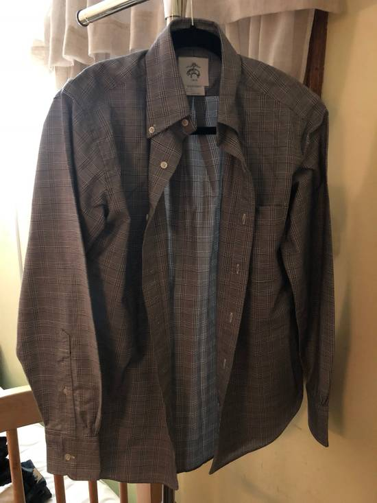 Thom Browne Grey Glen Plaid Shirt Size US XS / EU 42 / 0