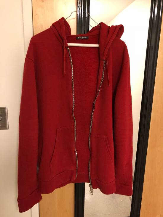 Balmain Zip Up Hoodie Size US XL / EU 56 / 4 - 1
