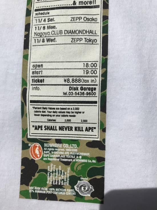 Bape A Bathing Ape Bape Camo Heads Tour T Shirt 2000 Vintage OG Bape NIGO M Medium Size US M / EU 48-50 / 2 - 7
