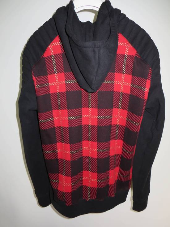 Balmain Tartan hooded sweatshirt Size US XL / EU 56 / 4 - 6