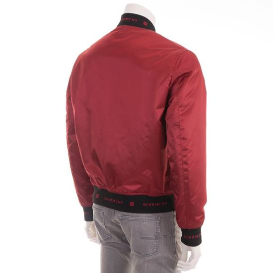 Givenchy Dark Red Nylon Givenchy Paris 4G Bomber Jacket Size US M / EU 48-50 / 2 - 5