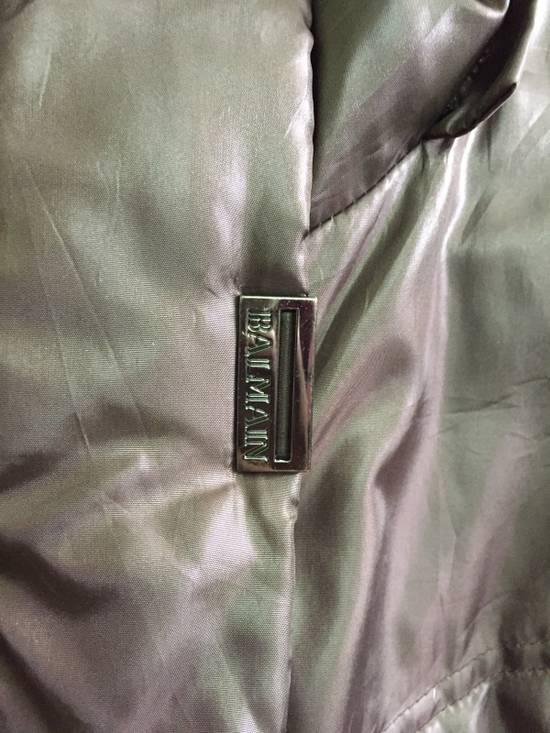 Balmain Puffer Jacket Monogram Bailman Button Up Full Zipper Size US L / EU 52-54 / 3 - 3