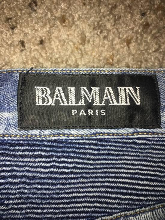 Balmain Balmain Men's Biker Jeans Size US 33 - 3