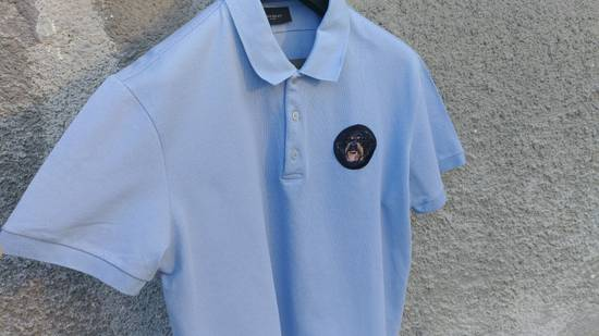 Givenchy Givenchy Baby Blue Rottweiler Patch Slim Fit Polo Shirt T-shirt size XXL (L) Size US L / EU 52-54 / 3 - 1