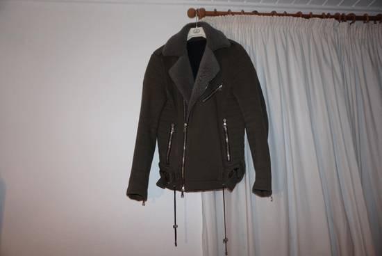 Balmain Balmain Kaki Green Shephard Coat Size US M / EU 48-50 / 2