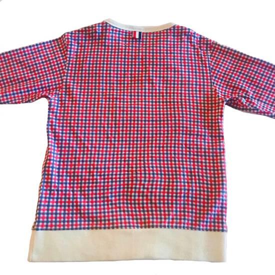 Thom Browne Thom Browne Plaid Pullover Shoulder Vent Size US XXS / EU 40 - 1
