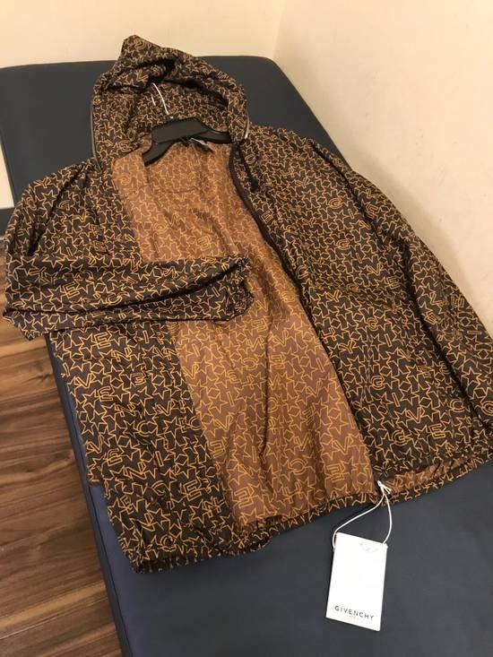 Givenchy Brown Star & Logo Contrast Zipper Size US L / EU 52-54 / 3 - 15