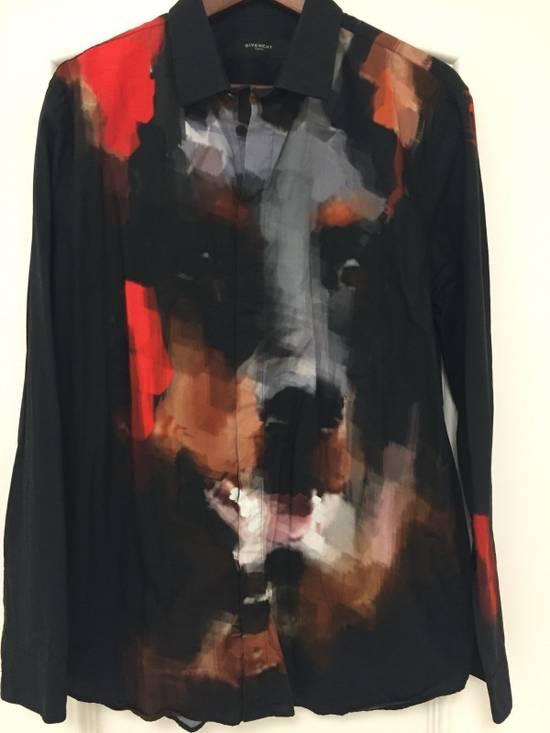 Givenchy GIVENCHY Doberman print shirt 100% AUTH XL NEW Size US XL / EU 56 / 4