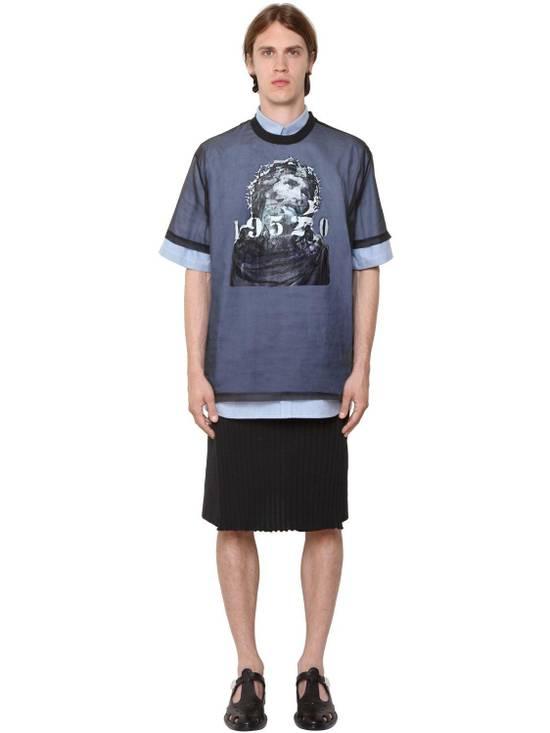 Givenchy Givenchy Jesus Christ Silk Organza Sheer Madonna Oversized T-shirt size XS (L) Size US XS / EU 42 / 0 - 2