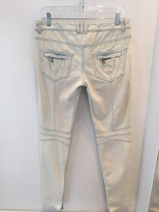 Balmain Women's Balmain Spring/Summer 2015 Biker Jeans Size US 36 / EU 52 - 1
