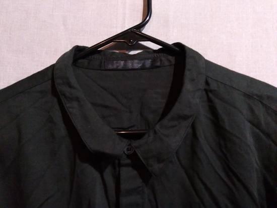 Julius Black Button Down Shirt Cotton/Silk ss10 Size US L / EU 52-54 / 3 - 1