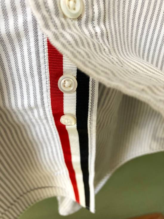 Thom Browne *Final Drop* Button Down Striped Dress Shirt Size US XXL / EU 58 / 5 - 5