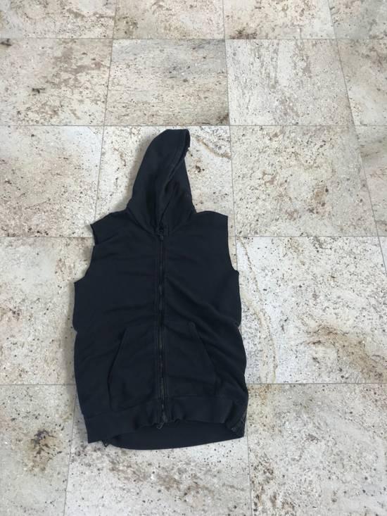 Balmain Sleeveless Black Hoodie Size US L / EU 52-54 / 3 - 1