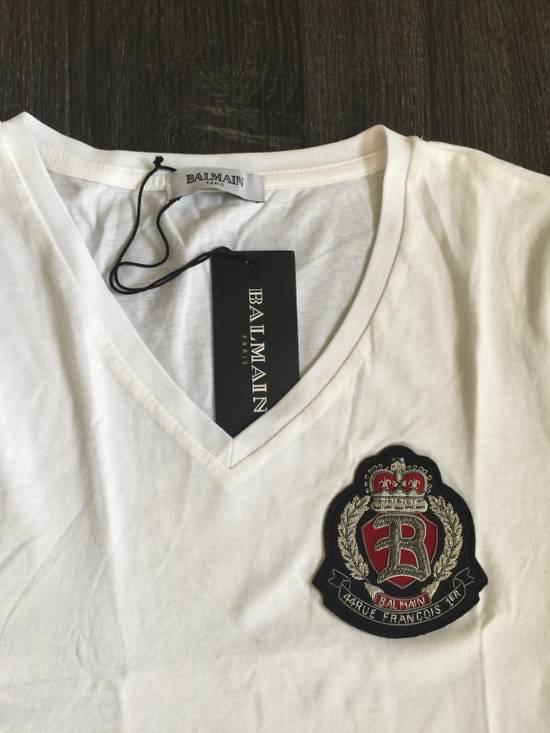 Balmain Balmain White V neck shirt Size US S / EU 44-46 / 1 - 4