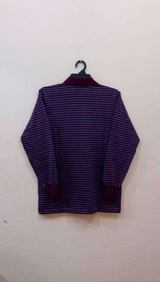 Givenchy Rare!! GIVENCHY long sleeve shirt polo shirt nice design stripe colour small size Size US S / EU 44-46 / 1 - 3