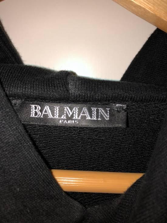 Balmain Balmain Black Hoodie With Sidezips Size US S / EU 44-46 / 1 - 1