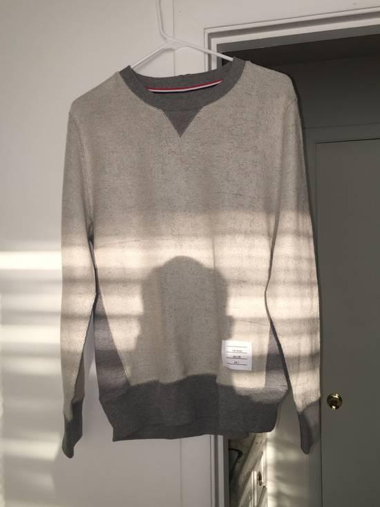 Thom Browne Grey Contrast Sweatshirt Size US L / EU 52-54 / 3