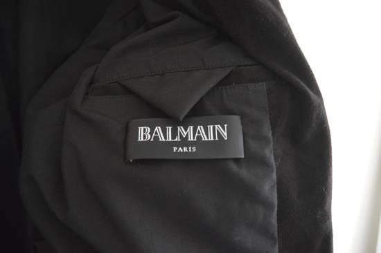 Balmain 1 of 1 Black Suede Biker Size US M / EU 48-50 / 2 - 3
