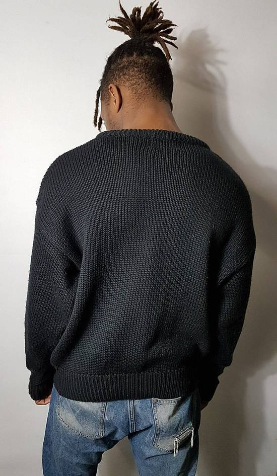 Givenchy SALE 1990s Vintage Givenchy Wool Knit Sweater / Pullover Sweatshirt With Graphic Pattern / 90's Hip Hop Clothing FREE SHIPPING Size US L / EU 52-54 / 3 - 4
