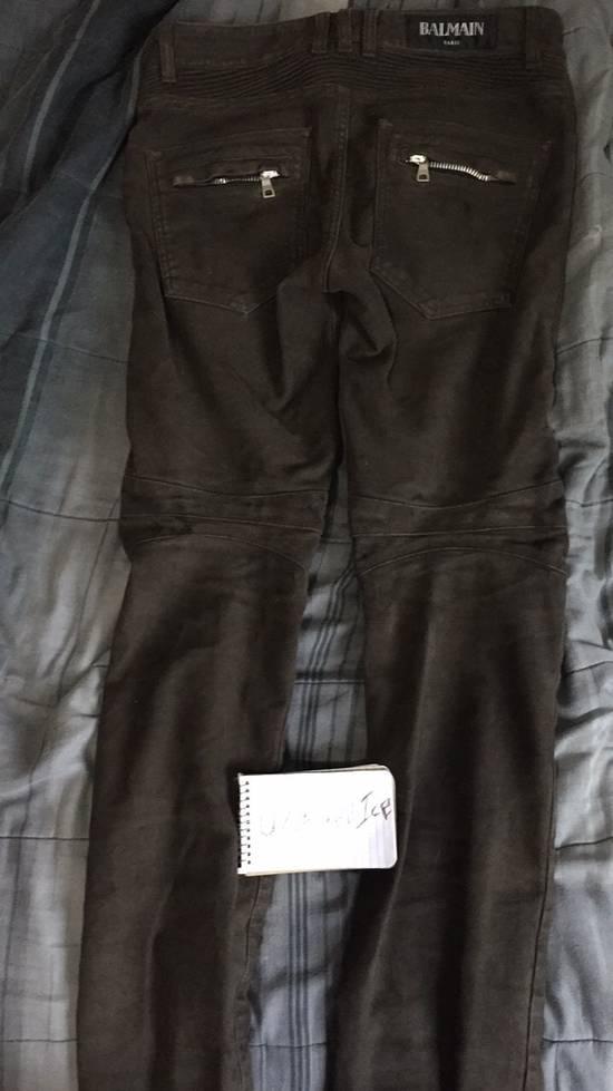 Balmain Mole Skin Biker Jeans *FINAL DROP* Size US 30 / EU 46 - 2