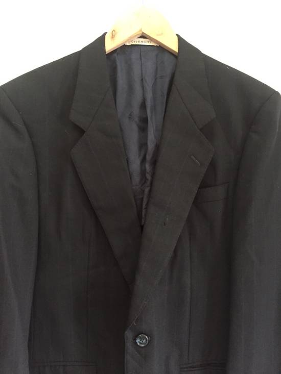 Givenchy Vintage Givenchy Monsieur Black Blazer Size 40L - 2