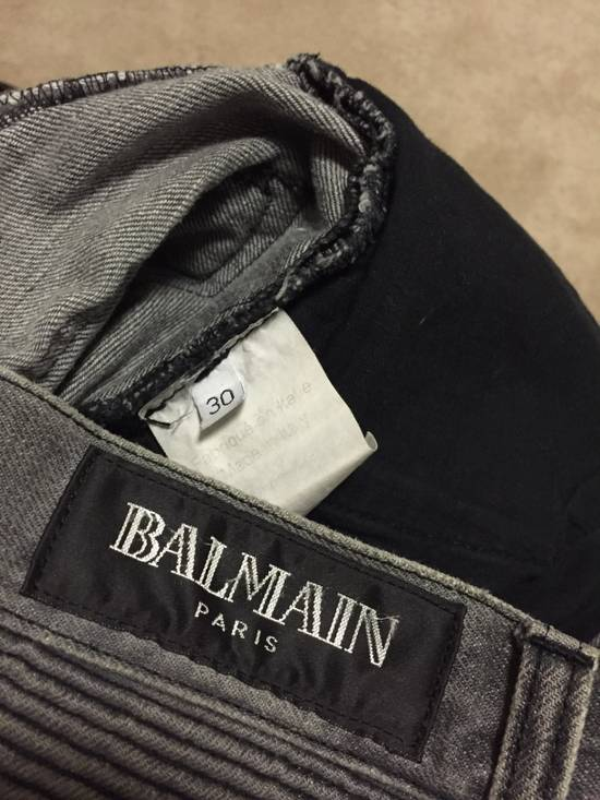 Balmain Decarnin 2010 pintucks Size US 30 / EU 46 - 8