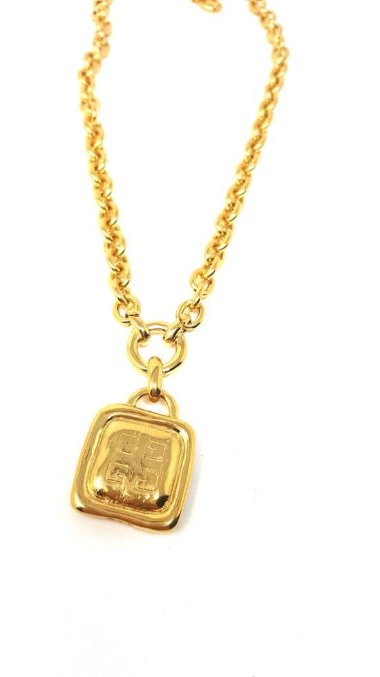 Givenchy Double sided gold plated necklace Size ONE SIZE - 4