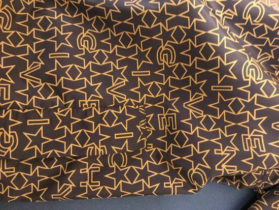 Givenchy Brown Star & Logo Contrast Zipper Size US L / EU 52-54 / 3 - 5