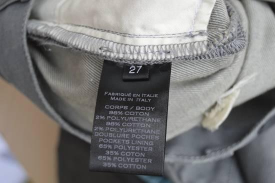 Balmain Grey Distressed Biker Jeans Size US 27 - 5