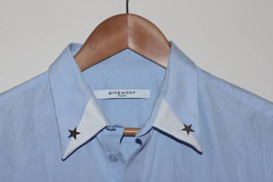 Givenchy Blue Star Dress Shirt Size US L / EU 52-54 / 3 - 1