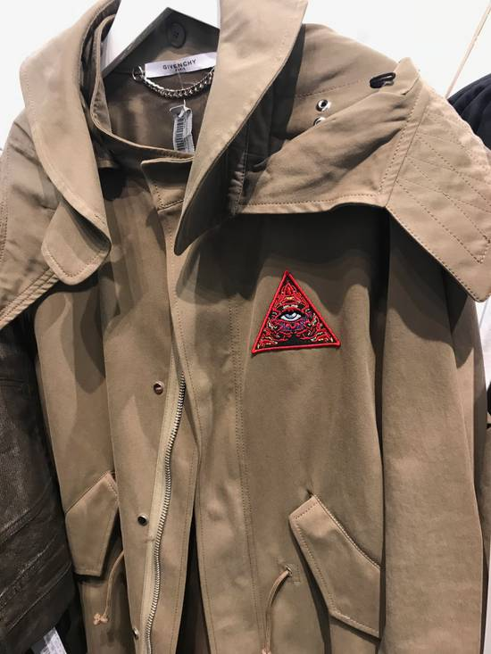 "Givenchy ""Real Lies"" Khaki Embroidered Parka Size US M / EU 48-50 / 2 - 3"