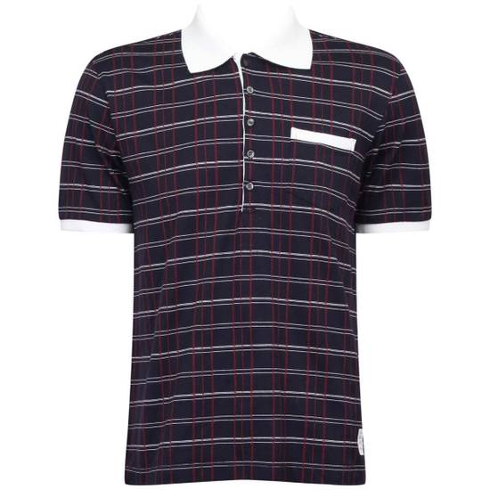 Thom Browne Thom Browne Polo-Shirt Plaid Size US L / EU 52-54 / 3
