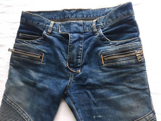 Balmain Rare SS 15 Balmian Biker jeans Size US 32 / EU 48 - 6