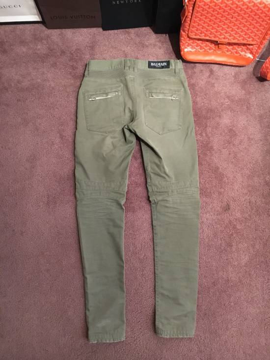 Balmain Distressed Olive Green Balmain Size US 31 - 10