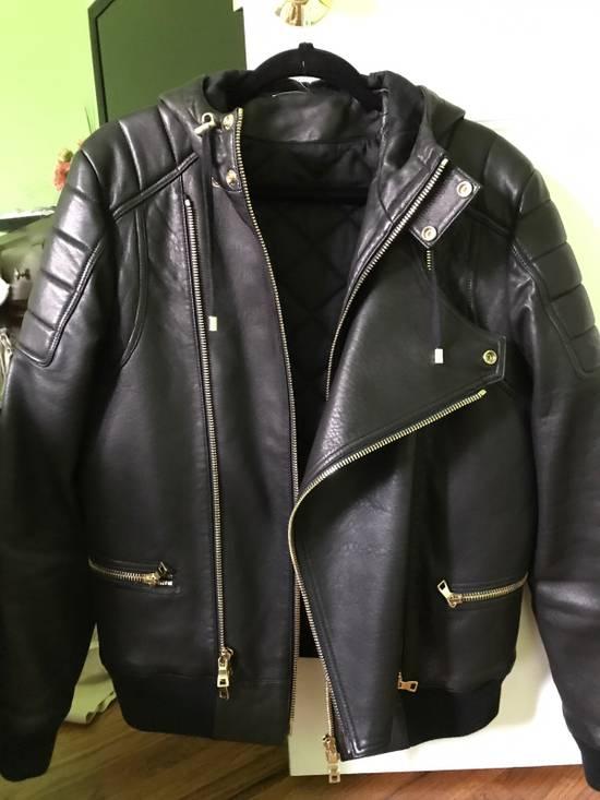 Balmain Balurt Leather Jacket Size US M / EU 48-50 / 2