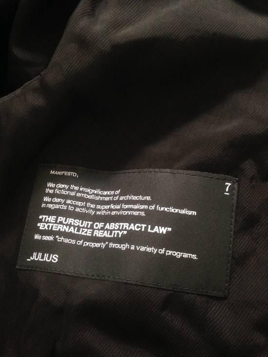 Julius *FINAL DROP* Julius 13SS vandalism: coated zipped up Hoodie [1] Size US S / EU 44-46 / 1 - 6