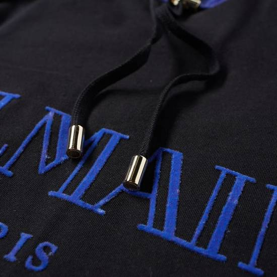 Balmain LAST DROP Balmain Paris Black and Blue Hoodie Size US S / EU 44-46 / 1 - 1
