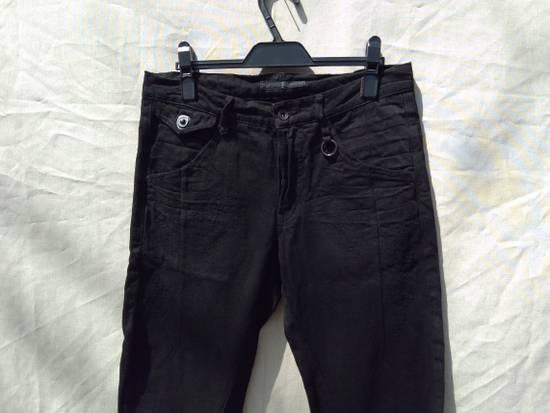 Julius Goth_ik Black Zip Hem Jeans Size US 31 - 1
