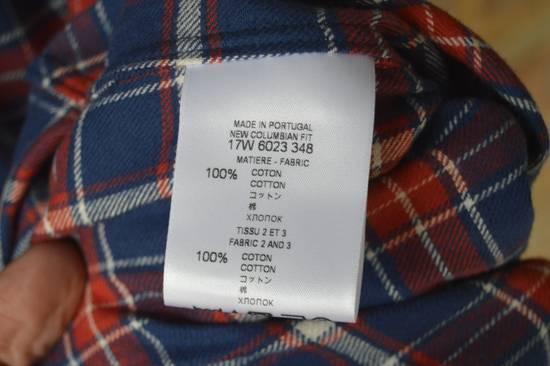Givenchy Contrast Arms Plaid Shirt Size US XL / EU 56 / 4 - 9