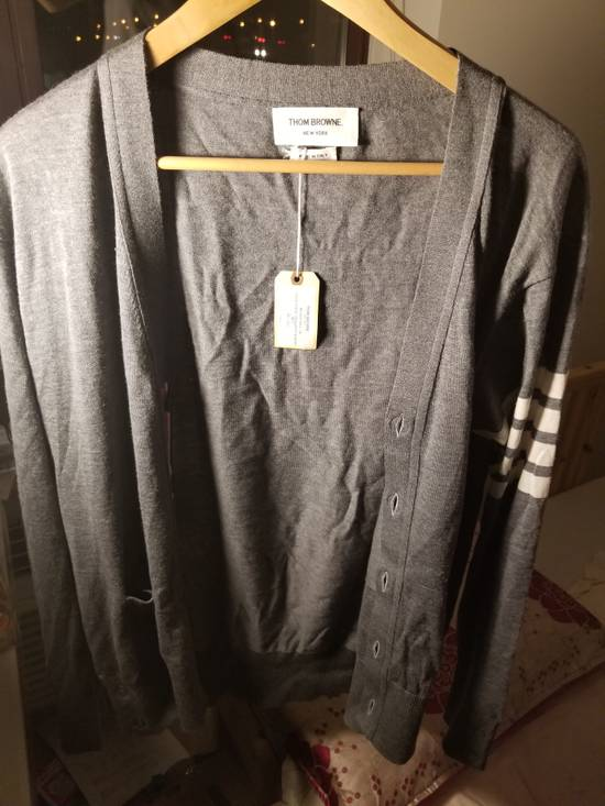 Thom Browne Thom Browne V neck Cardigan merino wo Size US XL / EU 56 / 4 - 6
