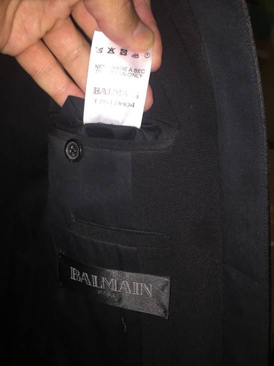 Balmain Black Tuxedo Blazer Size 50S - 6