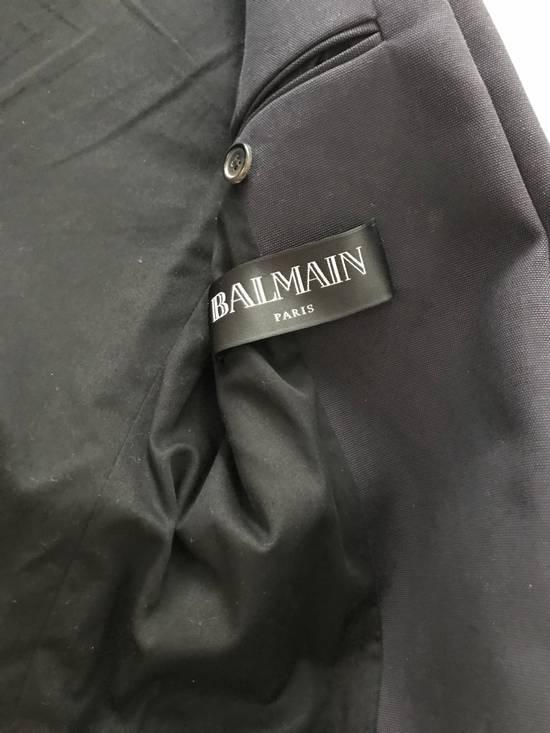 Balmain Raw Cotton Military Blazer / Jacket Size US S / EU 44-46 / 1 - 5