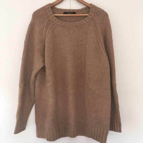 Givenchy Camel Chunky Sweater Size US XL / EU 56 / 4