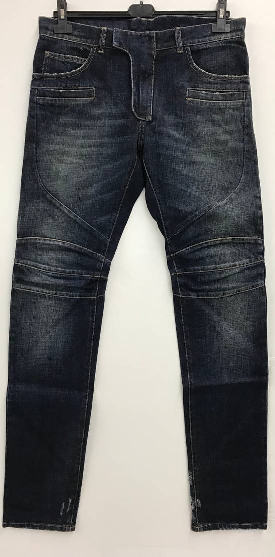 Balmain Balmain Biker Jeans Size 32 Model S6HT504D109V MADE IN ITALY Size US 32 / EU 48