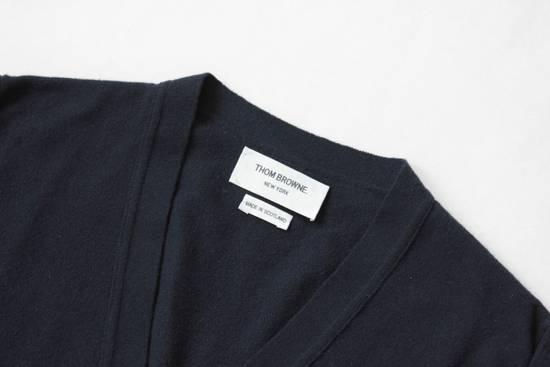 Thom Browne Navy Cashmere Classic 4 Bar Cardigan Size US S / EU 44-46 / 1 - 1