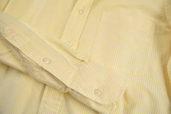 Thom Browne White Grossgrain, Yellow Stripe Oxford Size US L / EU 52-54 / 3 - 10