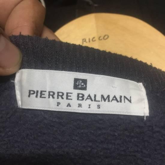 Balmain ⚡️Final Drop⚡️Pierre Balmain Embroidered Spellout Sweatshirt Size US L / EU 52-54 / 3 - 12
