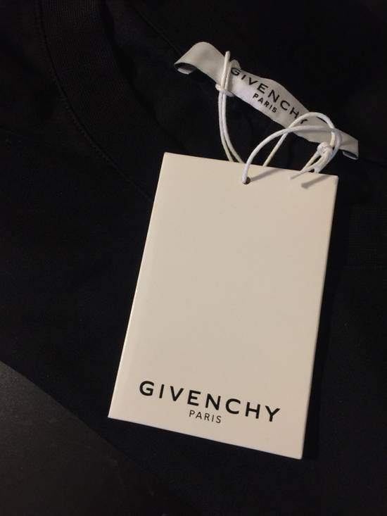 Givenchy Givenchy Logo Print Distressed Cotton Jersey T-Shirt Size US M / EU 48-50 / 2 - 4